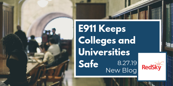 How to Keep Colleges and Universities Safe with E911